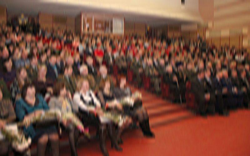 В Брянске отпраздновали 100-летие образования военных комиссариатов