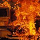 ВБрянске едва несгорел офис вФокинском районе