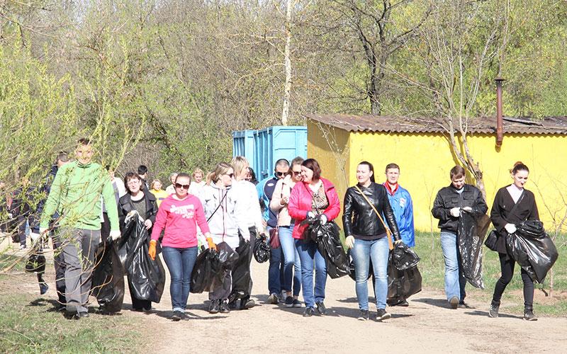 В Брянске 9 апреля стартует большая весенняя уборка