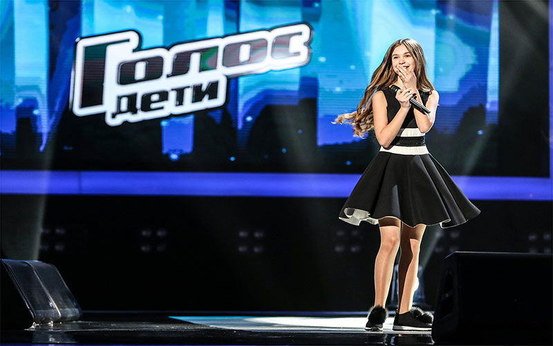 Анастасия Гладилина вошла в тройку лучших голосов России