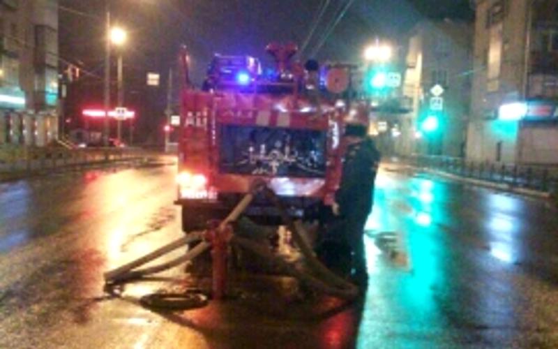 Пожар в двухэтажке на Никитина в Брянске спасатели потушили в считанные минуты
