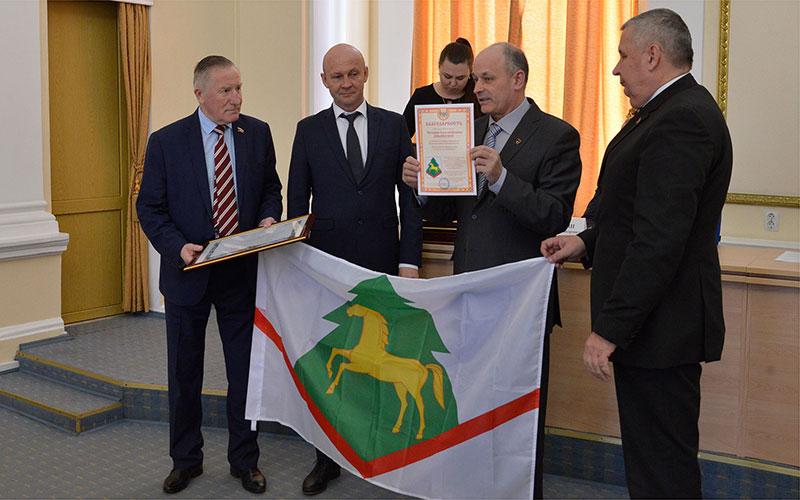Брянским селам вручили свидетельства орегистрации герба ифлага