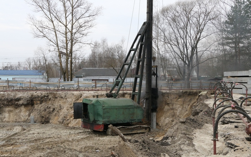 ВВолодарском районе начали строить новое здание суда