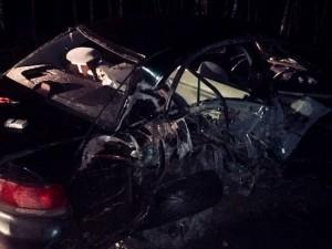 Он был в крови. На Тургоякском шоссе неравнодушный водитель помог пострадавшим в ДТП