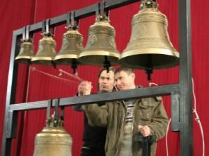 Занятие по колокольному звону проведет звонарь православного храма