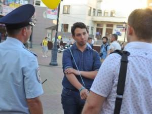 Бориса Золотаревского снова задержали у выхода спецприемника
