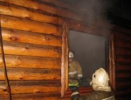 Пожар в Сатке тушили больше 4 часов