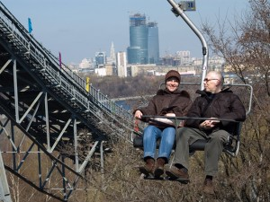 Часть канатной дороги украли в Москве