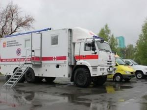 Скорая помощь в Челябинской области будет ездить на КАМАЗе