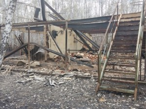 Крупный пожар в Агаповском районе: огонь шел сплошной стеной