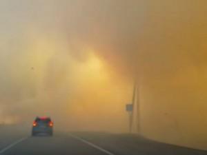 Видео: Челябинск во время НМУ окружило ядовитым дымом
