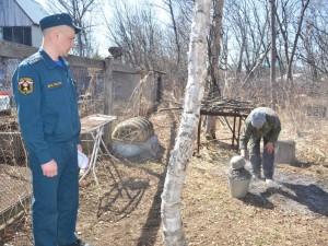 Садоводов в Магнитогорске штрафуют за костры во дворе дачи
