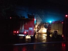 41 человек тушил пожар в кабельном тоннеле ПАО Мечел