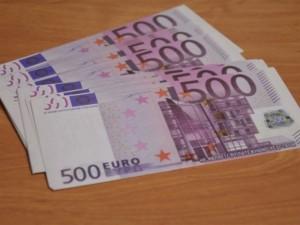Обладатель 16 поддельных банковских евро-купюр не стал богаче