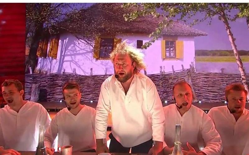 Появилось видео выступления «Бабкиных внуков» на Поклонной горе