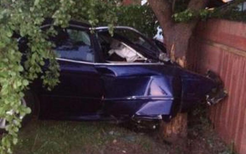 Белорус на BMW и его пассажир в Брянске встретили дерево по пути на Уральскую
