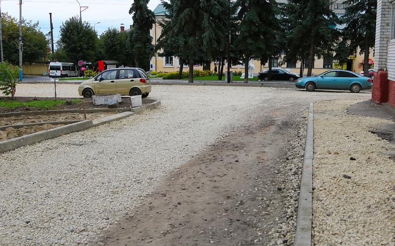 В Брянске пообещали отремонтировать 2,5 тысячи квадратных метров тротуаров