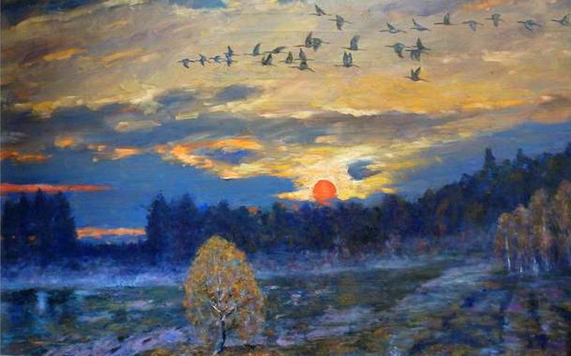 ВМоскве откроется выставка работ брянского художника