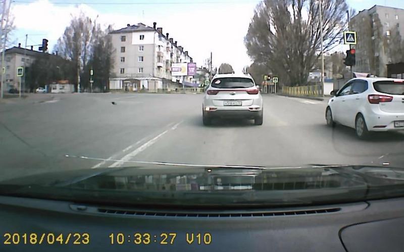 В Брянске наказали очередного водителя-дальтоника