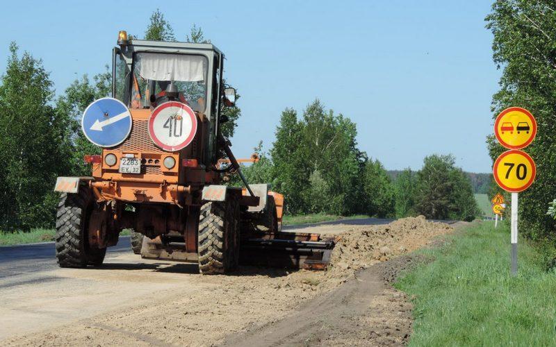 К новозыбковскому селу Манюки сделали долгожданную дорогу