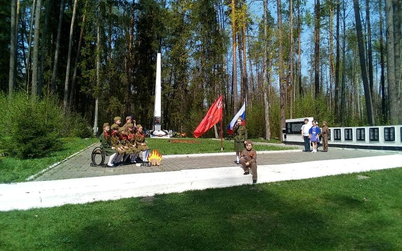 Под Брянском на стоянке партизанского отряда А.И. Виноградова вспомнили о ратной истории