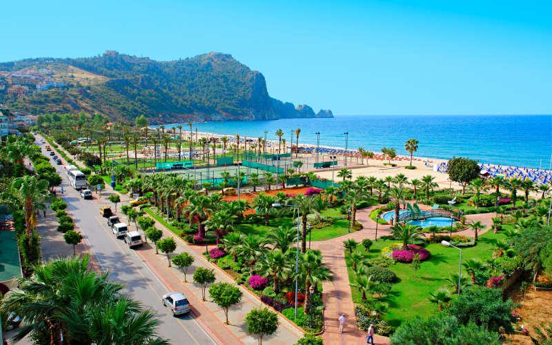 Погода на курортах Турции