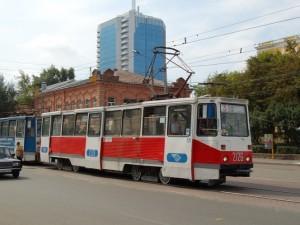 80 метров трамвайных путей распилили и похитили