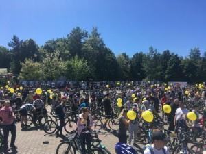 Велопарад в Магнитогорске собрал более 3000 горожан