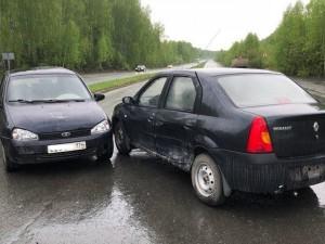 Три ДТП подряд в одном месте случилось в Озерске