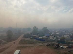 Пыльная буря и едкий дым оставили копейчан без воздуха