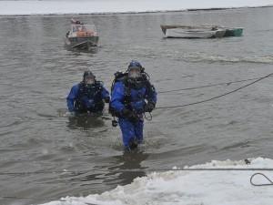 Труп полицейского нашли на озере спустя полгода