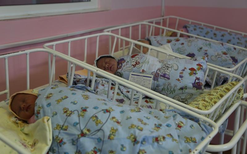 На Брянщине с начала года родилось 34 двойни и одна тройня