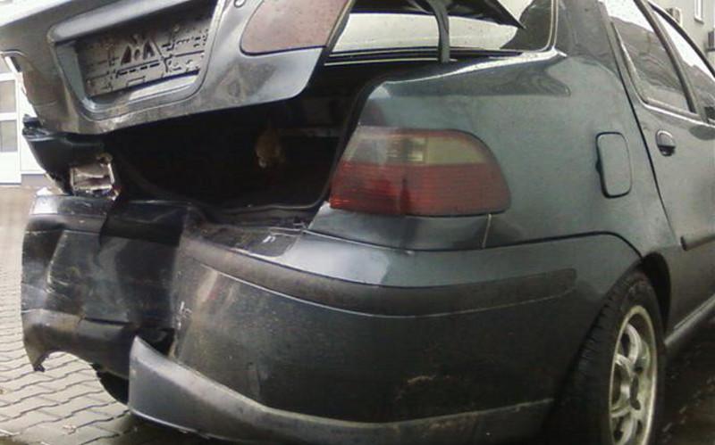 Пассажирка «Фиата» получила травму при столкновении наОбъездной