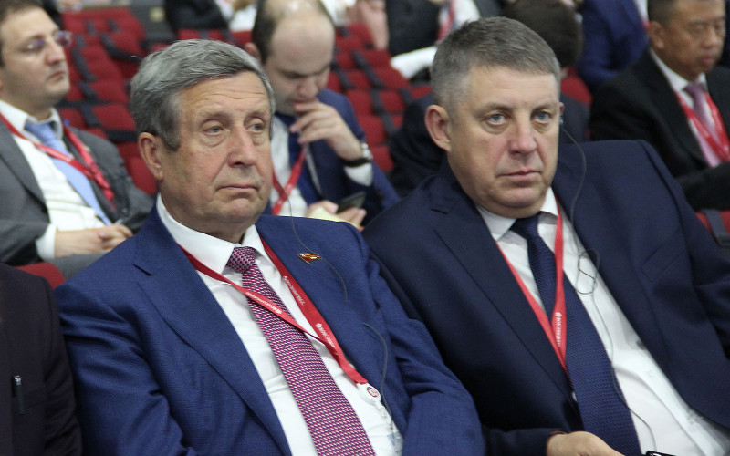 Брянский губернатор принял участие в открытии Петербургского экономического форума