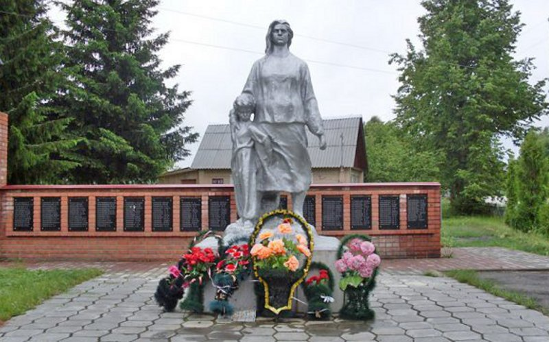 Вжуковской Матреновке поминали всех еепогибших жителей