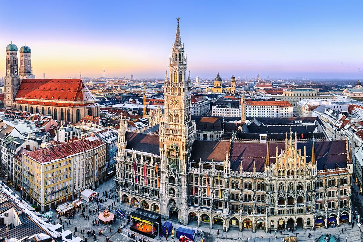 Вена-Мюнхен – маршрут, который обязательно стоит прочувствовать на себе