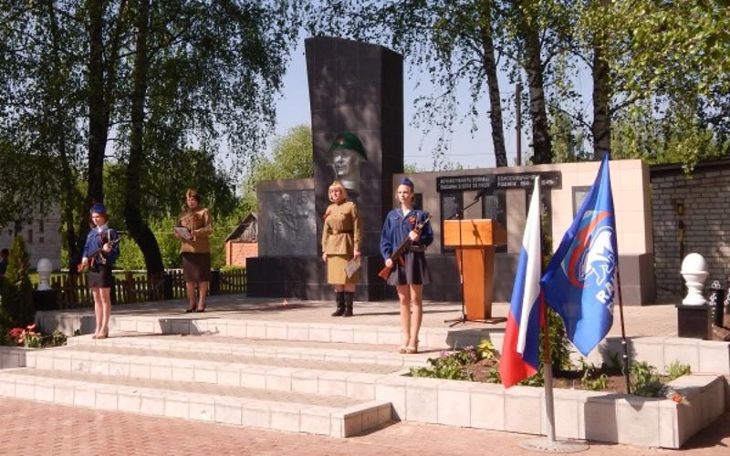 В Клинцовском районе отреставрировали памятник павшим в Великой Отечественной