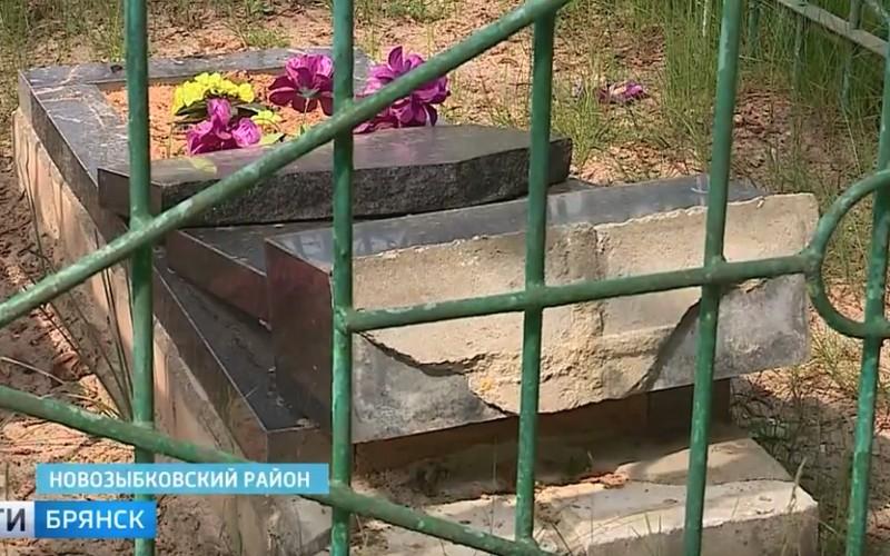 ВНовозыбковском районе разгромили сельское кладбище