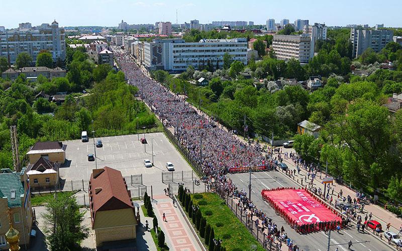 ПоБрянску прошел многотысячный «Бессмертный полк»