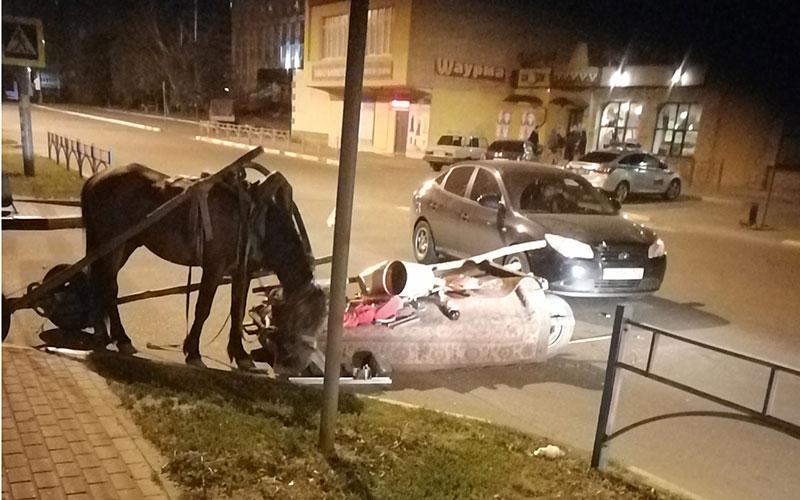 ВБрянске вДТП сгужевой повозкой пострадал 2-летний ребенок
