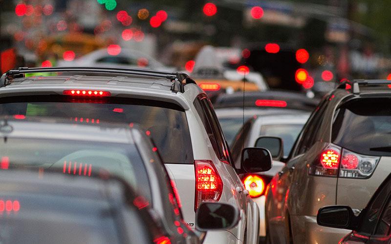 Брянских водителей предупредили опробках наФлотской
