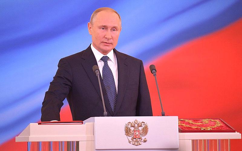 Брянский губернатор Богомаз поучаствовал винаугурации президента Путина