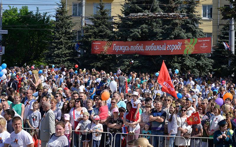Парад Победы— 2018 собрал рекордное количество брянцев