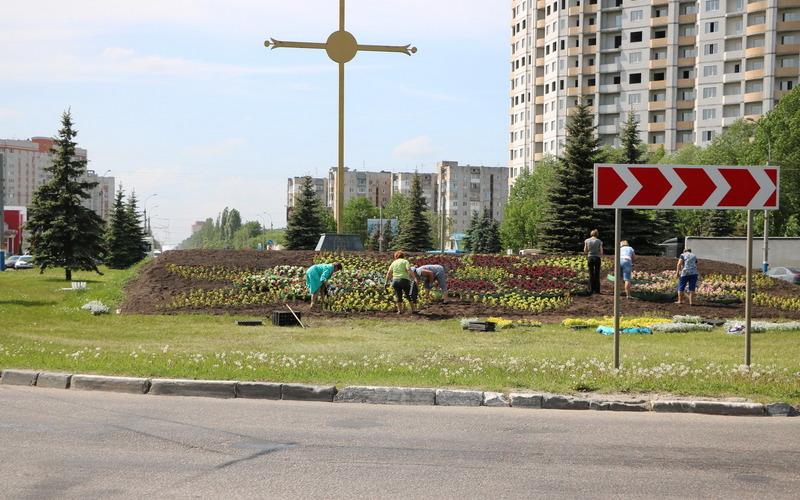 В Брянске посадят 200 тысяч цветов