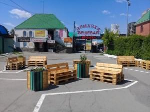 Новая зона отдыха в Челябинске. Место выбрано не самое удачное