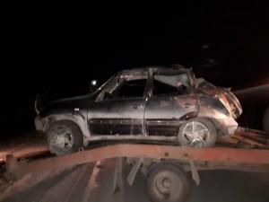 В ночном «перевертыше» под Саткой погиб пассажир, еще трое сильно ранены