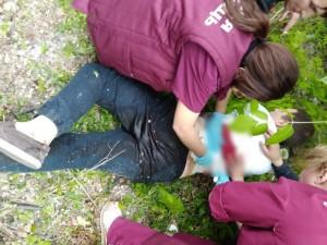 Мужчина с ножом напал на пляже в Магнитогорске