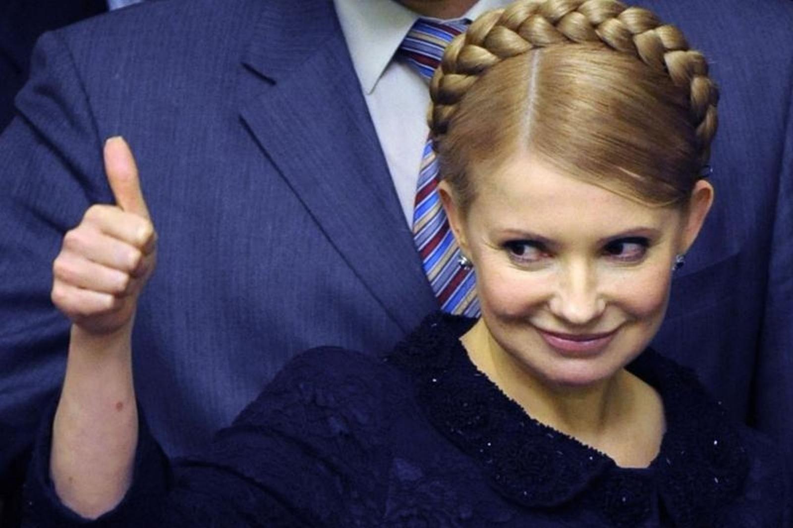 Обнаженка поукраински: мужчина разделся перед Тимошенко вовремя еёвыступления