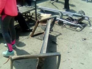 Пострадали 5 человек: лихач на «двенадцатой» снес остановку на ЧМЗ