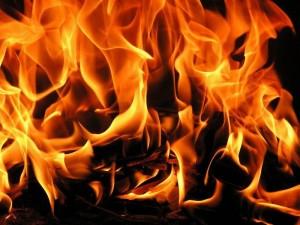 На территории ММК произошел пожар